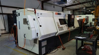 MAZAK NEXUS QTN 450II/2000 CNC UNIVERSAL TURNING CENTER