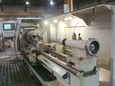 WEILER E 70/3000 CNC FLATBED TURNING CENTER