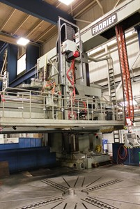 FRORIEP 25 KE370/1000-35 5 AXIS VERTICAL TURNING AND MILLING CENTER