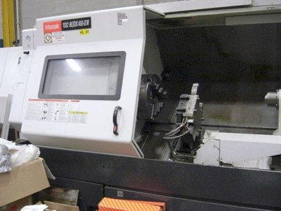 MAZAK NEXUS QTN 450IIM/3000 CNC UNIVERSAL TURNING & MILLING CENTER