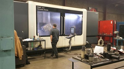 DMG MORI DMF 360 LINEAR CNC 5 AXIS VERTICAL MACHINING CENTER