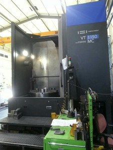 HWACHEON VT 1150MC CNC 3 AXIS VERTICAL TURRET LATHE W/MILLING