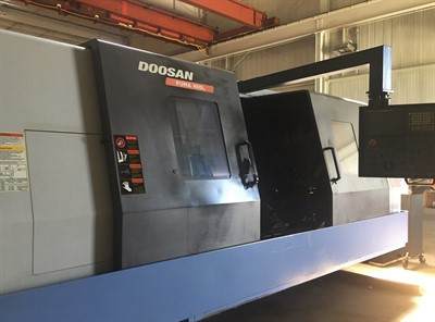 DOOSAN PUMA 400LB CNC UNIVERSAL TURNING CENTER