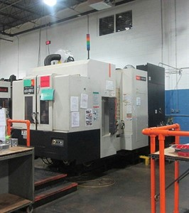 MAZAK NEXUS HCN 4000II CNC 4 AXIS HORIZONTAL MACHINING CENTER