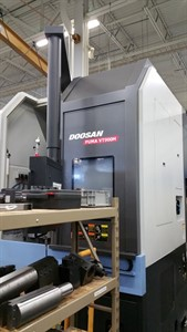 DOOSAN VT 900M CNC VERTICAL TURNING CENTER W / MILLING
