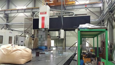 SNK RB 5VM CNC BRIDGE TYPE 5 SIDED VERTICAL MACHINING CENTER