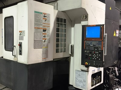 MAZAK VARIAXIS 500 5X 2 APC CNC VERICAL MACHINING CENTER