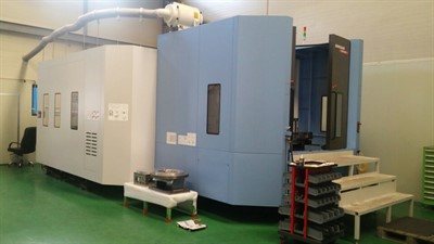 DOOSAN NHM 8000 CNC HORIZONTAL MACHINING CENTER