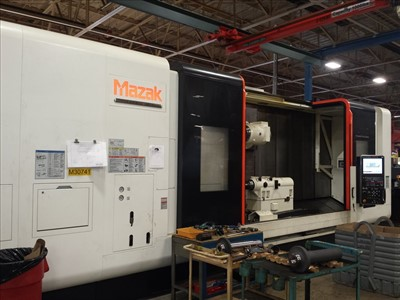 MAZAK E 670H IIR/3000 CNC MULTI TASKING TURNING AND MILLING CENTER