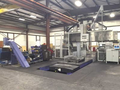 MITSUBISHI MVR 30 CNC VERTICAL 5 FACE MACHINING BRIDGE MILL