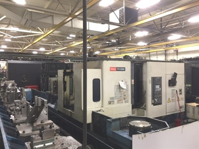 MAZAK FH 5800 14 PALLET 4 AXIS CNC HORIZONTAL MACHINING CENTER