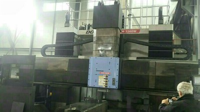 DOOSAN DCM 3260M FIVE FACE DOUBLE COLUMN CNC MACHINING CENTER