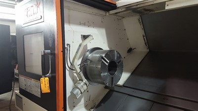 MAZAK NEXUS QTN 450II/1000 CNC UNIVERSAL TURNING CENTER
