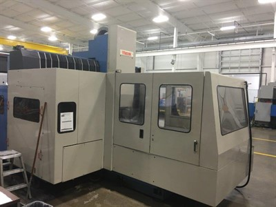 MAZAK AJV 60/80 CNC VERTICAL MACHINING CENTER
