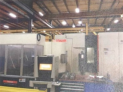 MAZAK NEXUS HCN 4000II CNC 4 AXIS HORIZONTAL MACHINING CENTER W 12 STATION PALLATECH