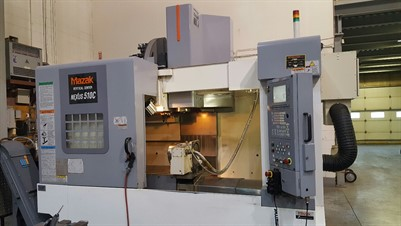 MAZAK NEXUS  VCN 510C  4 AXIS CNC VERTICAL MACHINING CENTER