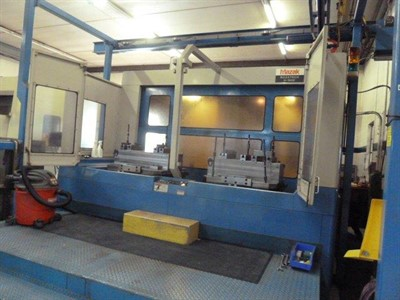 MAZAK H 1000 4 -AXIS CNC  HORIZONTAL MACHINING CENTER