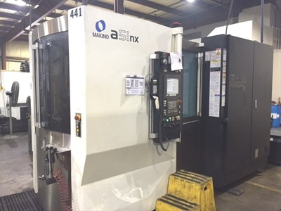 MAKINO A 51NX CNC 4 AXIS HORIZONTAL MACHINING CENTER