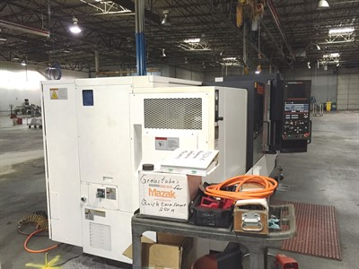 MAZAK NEXUS QTS 250MII/1000 CNC UNIVERSAL TURNING CENTER