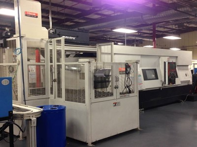 MAZAK INTEGREX 200 IVST/ 500 CNC MULTI-TASKING TURN AND MILL W/ GANTRY