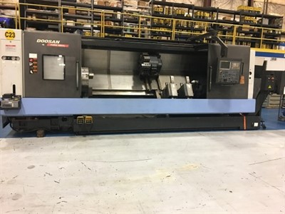 DOOSAN PUMA 480XLD CNC LARGE BORE TURNING CENTER