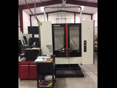 MAZAK NEXUS HCN 4000III CNC 4 AXIS HORIZONTAL MACHINING CENTER