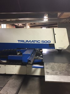 TRUMPF TRUMATIC 500 CNC PUNCH AND PLASMA MACHINE