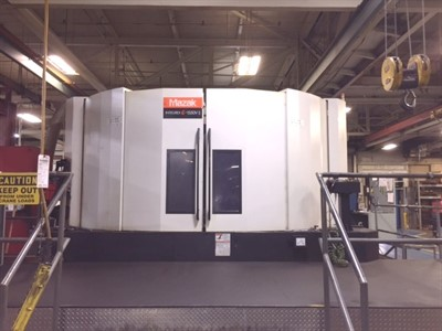 MAZAK E 1550V/10II CNC MULTI AXIS HORIZONTAL/VERTICAL TURNING CENTER