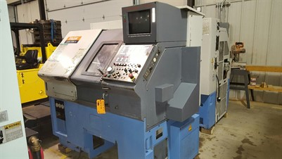 MAZAK QTN 10 CNC UNIVERSAL TURNING CENTER