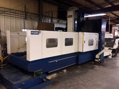 AWEA PC 3060 CNC BRIDGE TYPE VERTICAL MACHINING CENTER