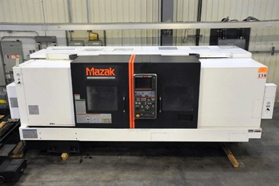 MAZAK NEXUS QTN 400II/2000  CNC UNIVERSAL TURNING CENTER
