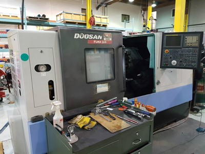 DAEWOO PUMA 280 CNC TURNING CENTER