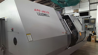LEADWELL LTC 35CL CNC UNIVERSAL TURNING CENTER