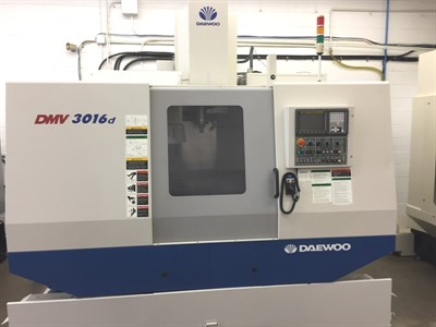 DAEWOO DMV 3016D CNC VERTICAL MACHINING CENTER