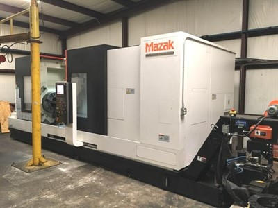 MAZAK SLANT TURN NEXUS 550M/2000 CNC TURNING AND MILLING CENTER