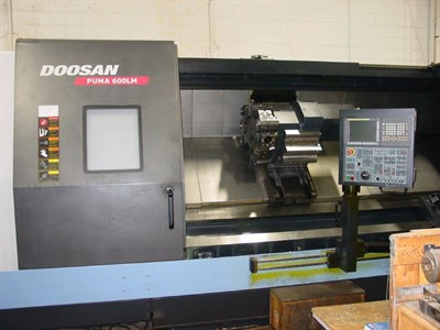 DOOSAN PUMA 600LM CNC TURNING AND MILLING CENTER