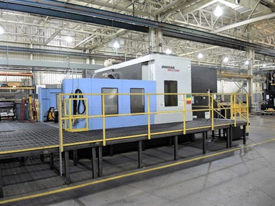 DOOSAN HM 1000 CNC HORIZONTAL MACHINING CENTER