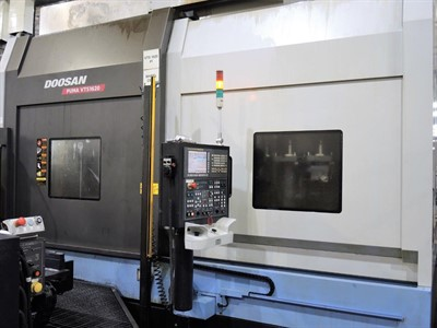DOOSAN VTS 1620 CNC VERTICAL TURNING  CENTER W/  2 APC