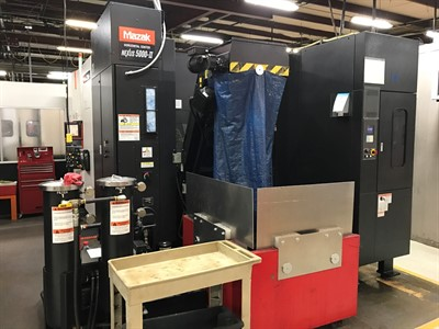 MAZAK NEXUS HCN 5000 II CNC HORIZONTAL MACHINING CENTER