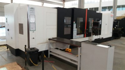 MAZAK SLANT TURN NEXUS 550M/4000 CNC TURNING AND MILLING CENTER