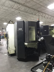 OKK HP 500S CNC HORIZONTAL MACHINING CENTER