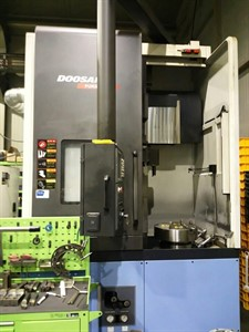 DOOSAN V 550M CNC VERTICAL TURNING CENTER WITH MILLING