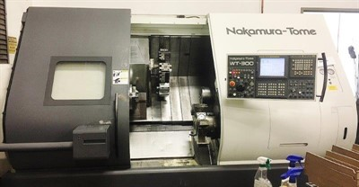 NAKAMURA TOME WT 300MMBBY TWIN TURRET LARGE BORE TURNING AND MILLING CENTER W/ Y-AXIS