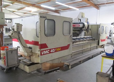 KOMO VMC 40/144 CNC VERTICAL MACHINING CENTER