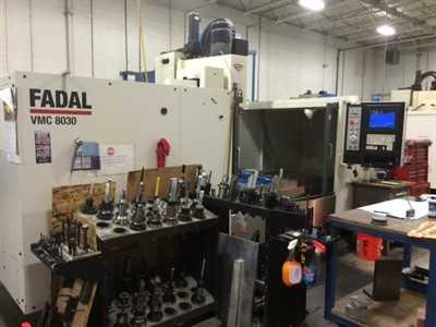 FADAL VMC 8030 HT VERTICAL MACHINING CENTER