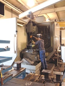 DMG DMU 100P duoBLOCK CNC 5 AXIS VERTICAL MACHINING CENTER