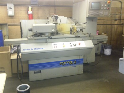 JONES & SHIPMAN MODEL F15/450E CNC CYLINDRICAL GRINDER
