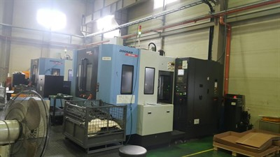 DOOSAN HM 5000 CNC HORIZONTAL MACHINING CENTER
