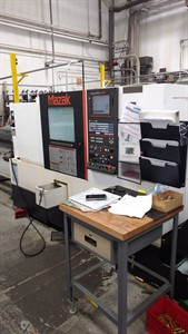 MAZAK NEXUS QTS 200M CNC TURNING CENTER WITH MILLING And BAR FEED