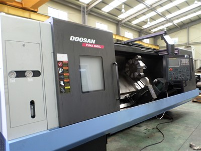 DOOSAN PUMA 480XL CNC TURNING CENTER  W/ STEADY REST
